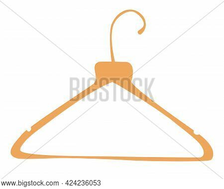 Wooden Clothes Rack. Clothes Hangers. Boutique, Cloakroom Or Shop Storage. For Coats, Sweaters, Dres