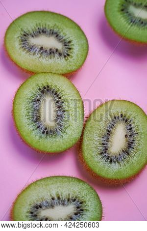 The Ellipsoidal Kiwi Fruit Is A True Berry And Has Furry Brownish Green Skin