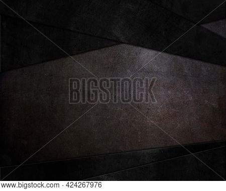 Abstract background with dark grunge style textures