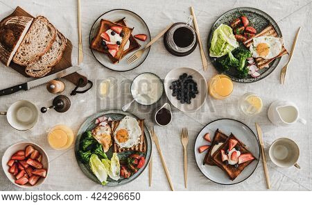 Breakfast Or Gathering Dinner For Friends And Family