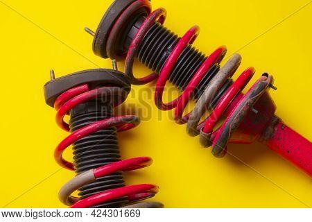 A Car Suspension Strut Shock Absorber, Vehicle Spare Part