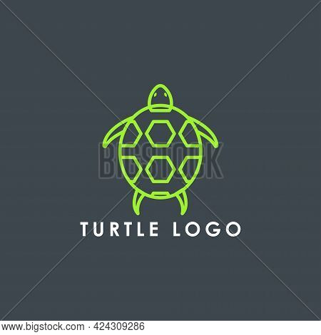 Turtle Animal Logo Icon Vector Design Template