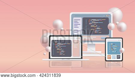 Web Development Programmer Engineering Coding Website Programming Software Apps For Different Device