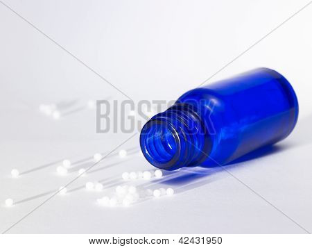 Small Bottle And Globules