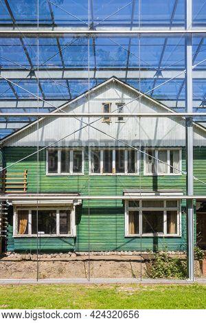 Westerbork, Netherlands - June 08, 2021: House Of The Camp Commander In Former World War Ii Camp Wes