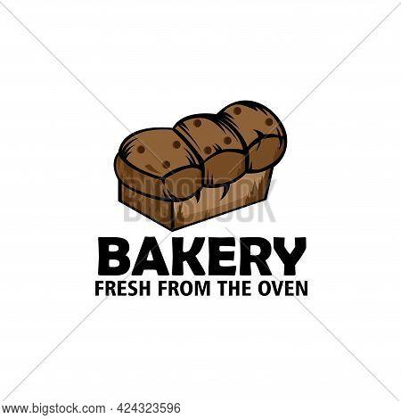 Bakery Design Logo Vector. Bakery Illustration Logo Vector