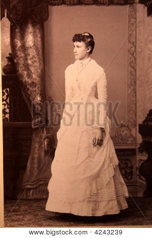 Photograph, Antique, Vintage, Young  Woman