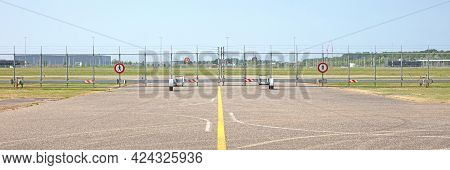 Small Fence On A Runway, No Access