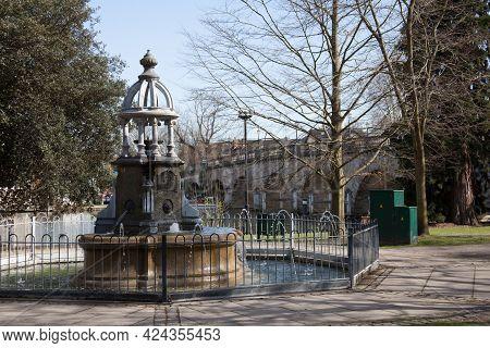 Bridge Gardens In Maidenhead, Berkshire In The Uk, Taken On The 30th March 2020