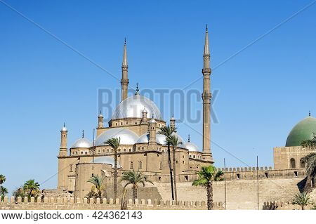 Egypt. Cairo. The Saladin Citadel - The Mosque Of Muhammad Ali Or Mohamed Ali Pasha, Also Known As T
