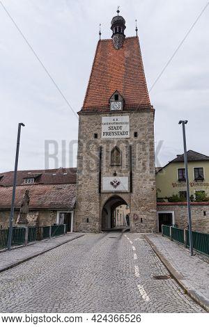 The Landmark Of The Freistadt - Linzertor