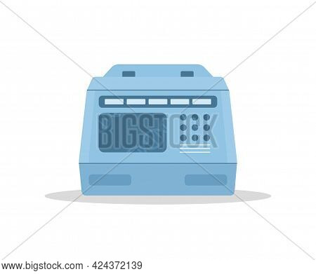 Pcr Machine. Termal Cycler For Polymerase Chain Reaction. Laboratory Equipment For Molecular Biology