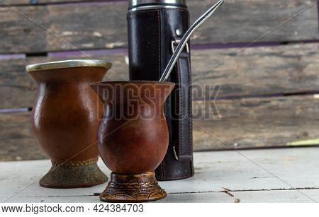 Mate And Yerba Mate Drink Utensils