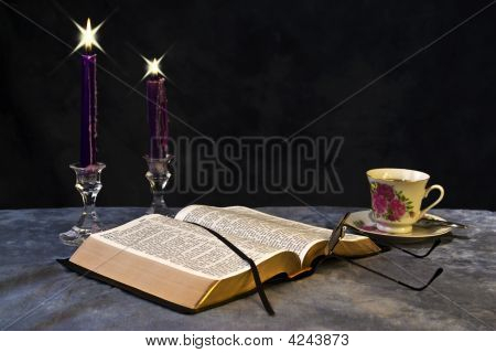 Bible By Candlelight