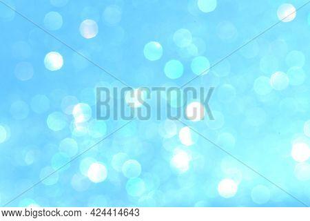 Blue glitter textured background wallpaper