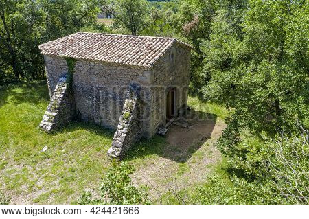 Santa Margarida De Vilaltella Is A Church With Romantic And Neoclassical Elements In Perafita, Osona