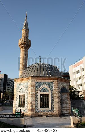 Konak Yali Mosque In Izmir City, Turkey