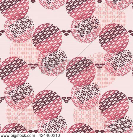 Beautiful Japanese Seamless Pattern With Clouds, Waves. Japanese, Chinese Elements. Vector Seamless