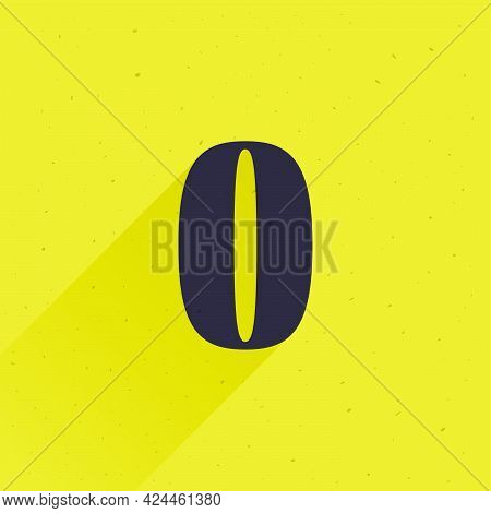 Number Zero Logo For Your Fun And Happy Design Projects. You'll Get A Playful Sign For Fun Advertisi