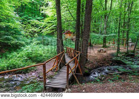 Paradise Area, Area Near The Town Of Varshets In The Stara Planina Mountains, Bulgaria.