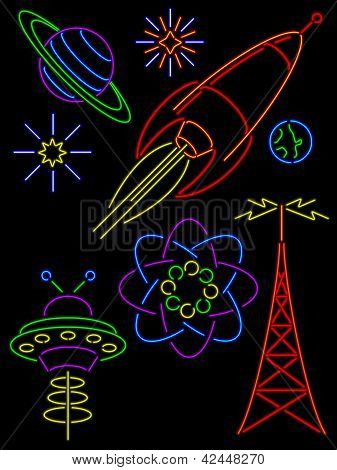 Retro Neon Signs