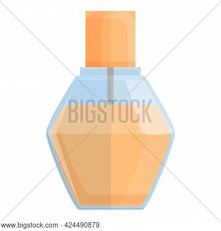 Korean Hair Oil Icon. Cartoon Of Korean Hair Oil Vector Icon For Web Design Isolated On White Backgr