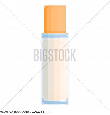 Korean Sun Cream Icon. Cartoon Of Korean Sun Cream Vector Icon For Web Design Isolated On White Back