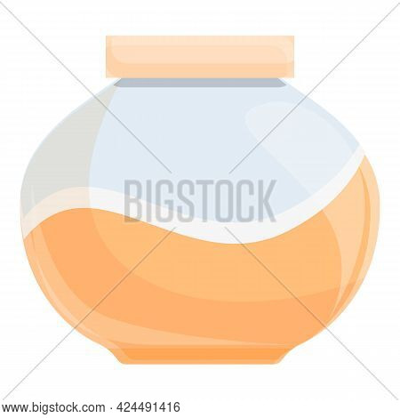 Korean Hand Cream Icon. Cartoon Of Korean Hand Cream Vector Icon For Web Design Isolated On White Ba