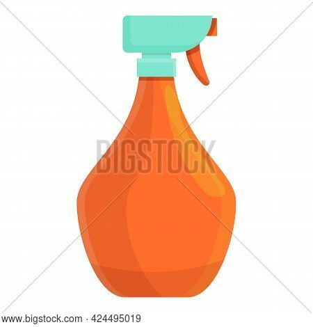 Disinfectant Spray Icon. Cartoon Of Disinfectant Spray Vector Icon For Web Design Isolated On White