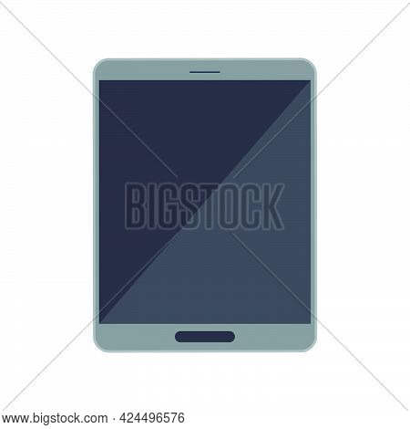 Tablet Icon Device Technology Design Vector Illustration Screen. Display Tablet Equipment Gadget Ico