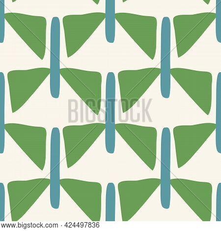 Summer Tropical Chevron Stripe Seamless Pattern. Bright Retro Zig Zag Line For Digital Scrapbook Pap