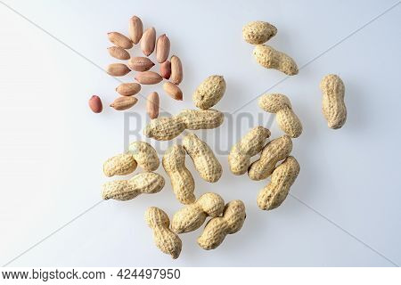Peeled Peanuts And Inshell Peanuts, Organic Peanuts
