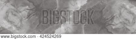 Onyx Marble Texture Background, Onyx Background. Gray Marble With Streaks Spots With Blue And Brown