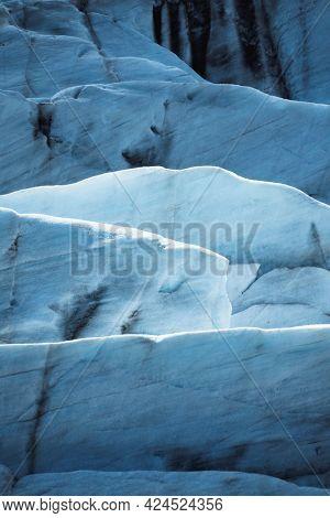 View of Svínafellsjökull glacier, Iceland