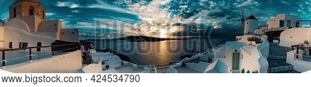 Oia village architecture Santorini island Greece