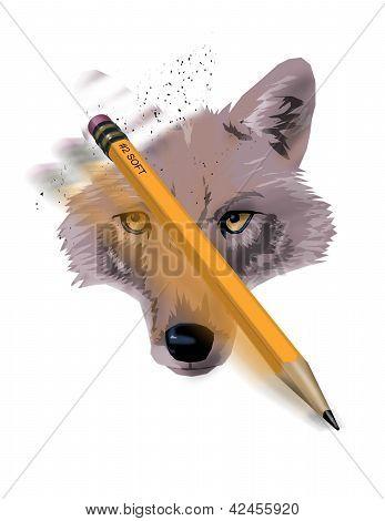 Vanishing Wolf