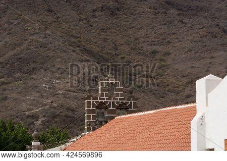 Barranco De Fataga On The Canary Island Of Gran Canaria In Summer