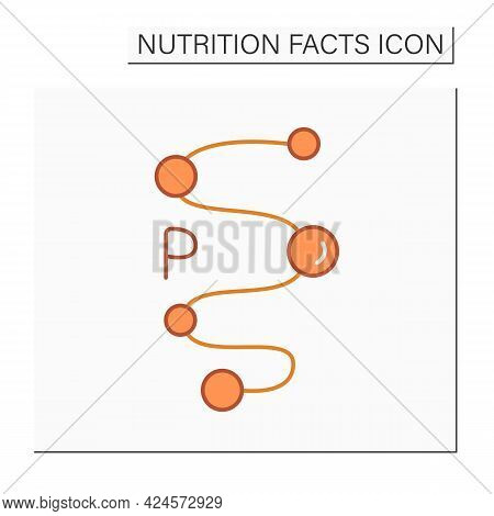 Proteins Color Icon. Amino Acids. Energy Value. Sport Supplements. Diet. Nutrition Facts.healthy, Ba