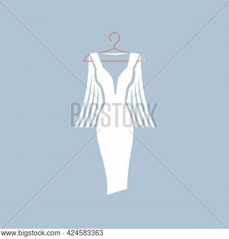 Beautiful Dress On A Hanger