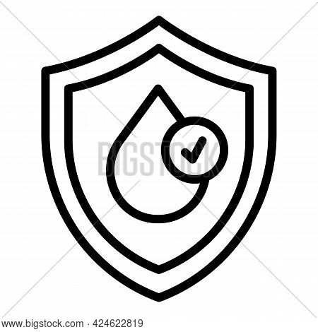 Regulated Products Icon. Outline Regulated Products Vector Icon For Web Design Isolated On White Bac