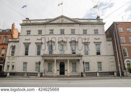 Dublin City, Dublin, Ireland, June 11th 2021. Department Of Foreign Affairs Building On St Stephens