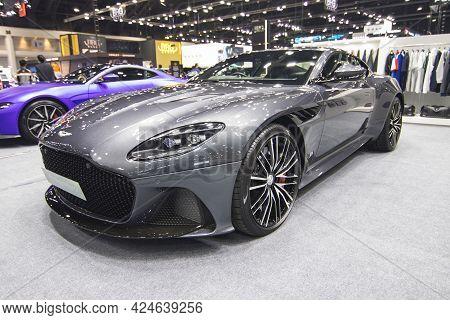Bangkok Thailand :- July 16,2020 :-  Aston Marlin Db11 V8 Car Show At Exhibition Bangkok Internation