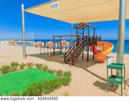 Goynuk, Antalya, Turkey - May 11, 2021: View Of Seven Seas Hotel Life Ultra All Inclusive And Kids C