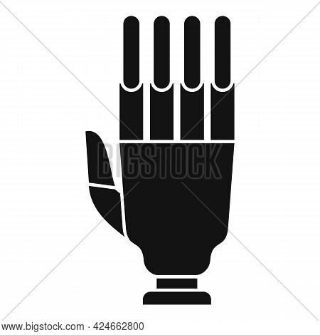 Artificial Hand Icon. Simple Illustration Of Artificial Hand Vector Icon For Web Design Isolated On
