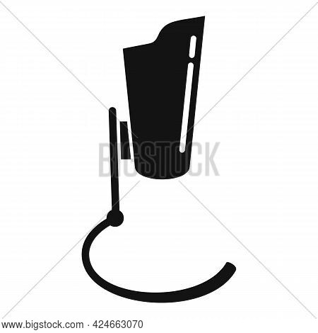 Artificial Leg Icon. Simple Illustration Of Artificial Leg Vector Icon For Web Design Isolated On Wh