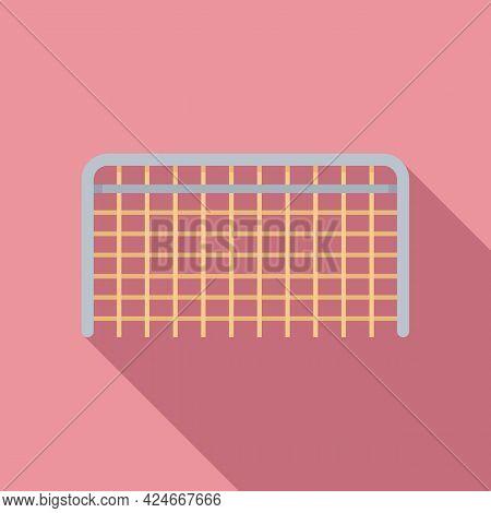 Hurling Gate Icon. Flat Illustration Of Hurling Gate Vector Icon For Web Design