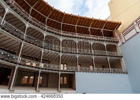 Madrid, Spain - May 1, 2021: The Beti Jai Fronton In Madrid. It Is A Sport Venue In Neo-mudejar Styl