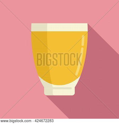 Bio Fresh Juice Icon. Flat Illustration Of Bio Fresh Juice Vector Icon For Web Design