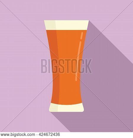 Tomato Fresh Juice Icon. Flat Illustration Of Tomato Fresh Juice Vector Icon For Web Design