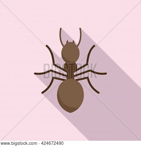 Ant Icon. Flat Illustration Of Ant Vector Icon For Web Design